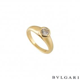 Bvlgari Diamond Ring 0.49ct F/VS1